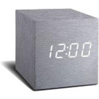 Gingko Electronics Cube Aluminium Click Clock