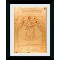 Doctor Who Weeping Angel - 30 x 40cm Collector Prints - Doctor Who Gifts
