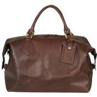 Barbour Mens Medium Travel Explorer Bag - Dark Brown