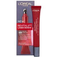 LOreal Paris Dermo Expertise Revitalift Laser Renew Precision Eye Cream - Triple Action (15ml)