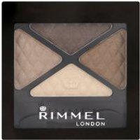 Rimmel Glam Eyes Quad Eyeshadow - Smokey Brown