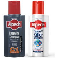 Alpecin Dandruff Killer and Caffeine Shampoo Duo
