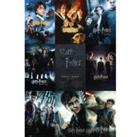 Harry Potter Collection - Maxi Poster - 61 x 91.5cm - Harry Potter Gifts