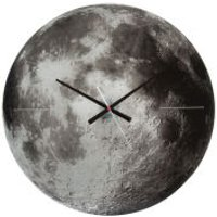 Karlsson Moon Silent Movement Wall Clock - Copper Mirror Glass - Karlsson Gifts