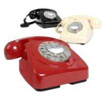Retro Telephones - One Size - Red