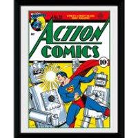 DC Comics Superman Comic - 8x6 Framed Photographic - Superman Gifts
