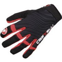 Castelli CW 6.0 Cross Gloves - Black/Red - L - Black/Red