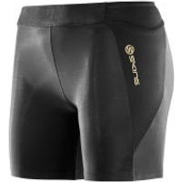 Skins A400 Womens Compression Shorts - Black - XS - Black
