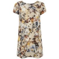 LOVE LOVE Women's V Back Shift Dress - Multi - UK 8 - Multi