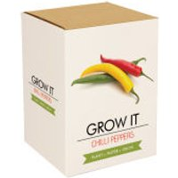 Grow Your Own Chilli Plants Gift Set - Grow Your Own Gifts