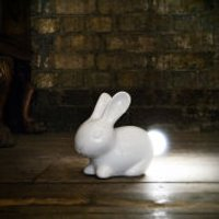 Bunny Shaped Lamp