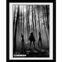 The Walking Dead Woods - 8x6 Framed Photographic