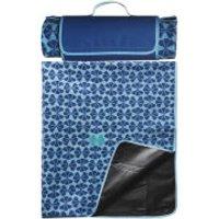 Sagaform Happy Picnic Blanket - Blue - Picnic Gifts