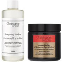 Christophe Robin Regenerating Mask and Clarifying Shampoo Duo