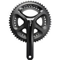 Shimano 105 FC-5800 Standard Bicycle Chainset - Black - 175mm - 53/39 - Black