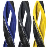 Michelin Lithion 2 Clincher Road Tyre - 700c x 23mm - Yellow/Black