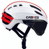 Casco Speedairo Helmet with Smoke Visor - White - M 54-59cm - White