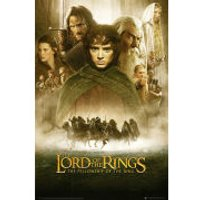Lord Of The Rings Fellowship Of The Ring One Sheet - Maxi Poster - 61 x 91.5cm