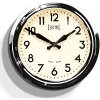 Newgate 50s Electric Clock - Chrome