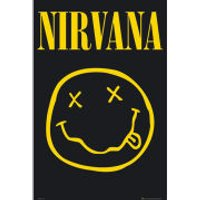 Nirvana Smiley - Maxi Poster - 61 x 91.5cm