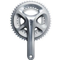 Shimano 105 FC-5800 Compact Bicycle Chainset - Silver - 170mm - 50/34 - Silver