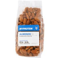 Natural Nuts (Whole Almonds) - 400g - Unflavoured