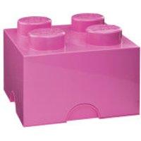 LEGO Storage Brick 4 - Pink