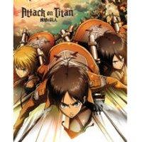 Attack on Titan Attack - Mini Poster - 40 x 50cm