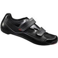 Shimano R065 Road Cycling Shoes - Black - EU 44 - Black
