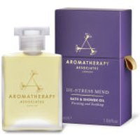 Aromatherapy Associates De-Stress Mind Bath & Shower Oil (55ml)