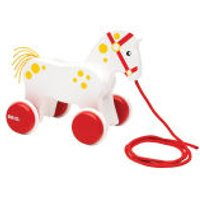 Brio Special 150th Anniversary Pull Along Horse - Anniversary Gifts