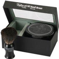 Taylor of Old Bond Street Jermyn Street Pure Badger Brush and Shaving Cream Bowl Set