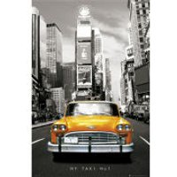 New York Taxi No 1 - Maxi Poster - 61 x 91.5cm
