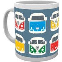 VW Camper Colour Illustration Mug