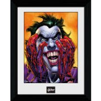 Batman Joker Laugh - 30 x 40cm Collector Prints - Batman Gifts