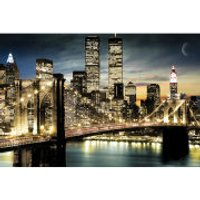 New York Manhattan Lights - Maxi Poster - 61 x 91.5cm