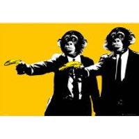 Monkeys Bananas - Maxi Poster - 61 x 91.5cm - Monkeys Gifts