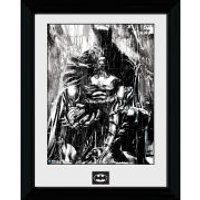 Batman Rain - 30 x 40cm Collector Prints - Batman Gifts