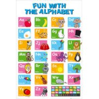 Educational Alphabet - Maxi Poster - 61 x 91.5cm - Educational Gifts