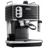DeLonghi Scultura Espresso Coffee Machine - Black High Gloss