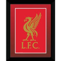 Liverpool Club Crest - 8 x 6 Framed Photographic