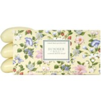 Crabtree & Evelyn Summer Hill Scented Bath Soap (3X100g) - Soap Gifts