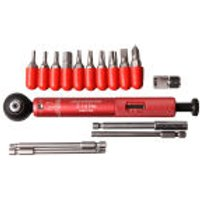 Effetto Mariposa Giustaforza II 2-16 Pro Deluxe Torque Wrench - Red (Includes Bits)