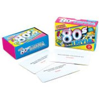 Awesome 80's Trivia Cards - 80s Gifts