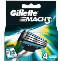 Gillette Mach3 Blades (4 Pack)