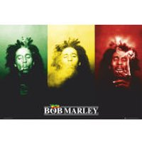 Bob Marley Flag - Maxi Poster - 61 x 91.5cm - Bob Marley Gifts
