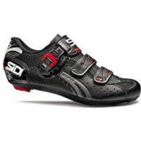 Sidi Genius 5 Fit Carbon Cycling Shoes - Black - EU 36/UK 3 - Black