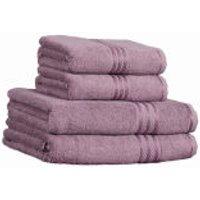 Restmor 100% Egyptian Cotton 4 Piece Supreme Towel Bale Set ( 500gsm) - Mauve