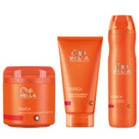 Wella Professionals Enrich Volumising Trio for Fine to Normal Hair- Shampoo, Conditioner & Treatment