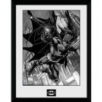 DC Comics Batman Comic Hook - Framed Photographic - 16 x 12inch